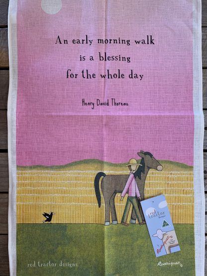 """""""An early morning walk is a blessing for the whole day"""""""
